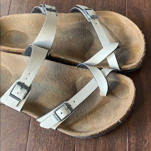 Birkenstock Shoes - Birkenstock stone color